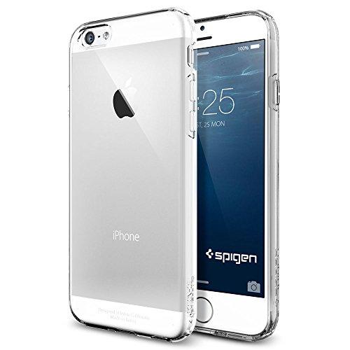 iPhone 6 ケース, Spigen® [ ソフト TPU ] Apple iPhone 4.7 (2014) カプセル The New iPhone アイフォン6 (国内正規品) (クリスタル・クリア 【SGP10940】)