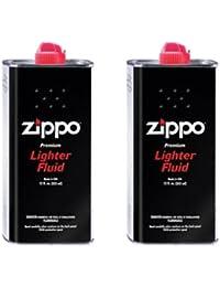 ZIPPO(ジッポー) Zippo オイル缶 【大缶・355ml】 2本セット