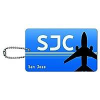 サンノゼCA(SJC)空港コード IDカード荷物タグ