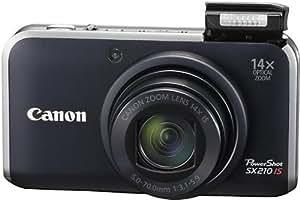 Canon デジタルカメラ PowerShot SX210 IS ブラック PSSX210IS(BK)