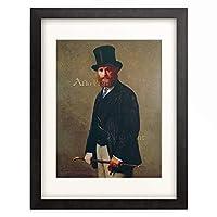 アンリ・ファンタン=ラトゥール Henri Jean Théodore Fantin-Latour 「マネの肖像」 額装アート作品
