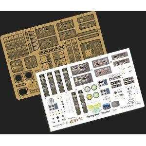 メビウスモデル 1/32 フライングサブ用 ディテールアップエッチングパーツ&デカール