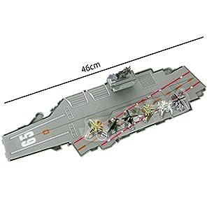 1/720 空母 CVN-65 エンタープライズ + 飛行機6機 セット USS Enterprise U.S.S アメリカ海軍 プラモデル 完成品 航空母艦