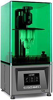 ELEGOO Mars 2 Mono MSLA 3D Printer UV Photocuring LCD Resin 3D Printer with 6.08 inch 2K Monochrome LCD, Print
