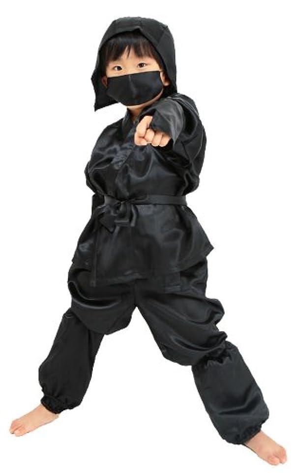 逸話孤独なシェルキッズジョブ 忍者 キッズコスチューム 男女共用 120cm