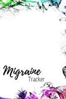 Migraine Tracker: the 90 day migraine and pain diary rainbow colors    Beautifully designed pain management notebook to record migraines  Track weather, duration, severity and more