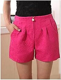 女性のプラスサイズのカジュアルショートパンツパンツ(もっと色)