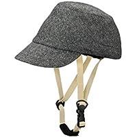 CAPOR(カポル) ウォルナット C6054SDJ ダークグレー 着せ替え用帽子付き自転車ヘルメット