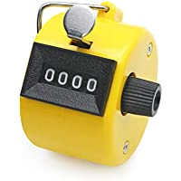 AmzBarley カウンター 数取器 手持ち カウント 4桁 数取り器 カウンター 防水 小型 数取器 計数器 数カウンター 数取器 カウンター 手持型 counter 手掌用 計数 1個入
