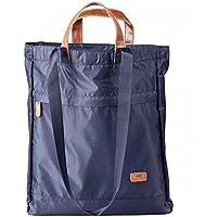 Minami トートバッグ ショルダーバッグ vsトートバッグ 2WAY 男女兼用 軽量 旅行 買い物 スポーツ 学生 通学 高校生 大容量 (紺色)