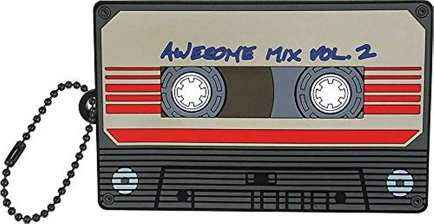 アプライアンス流一月ティーズファクトリー マーベル/カセットテープ 10.7×6.5×0.3cm マーベル ラバーダイカットミラー MV-5522489