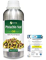 Pistachio Nut (Pistacia vera)100% Natural Pure Carrier Oil 1000ml/33.8fl.oz.