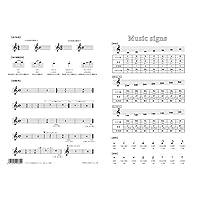 オリジナルクリアファイル A5サイズの音楽記号ファイル PRSP-34