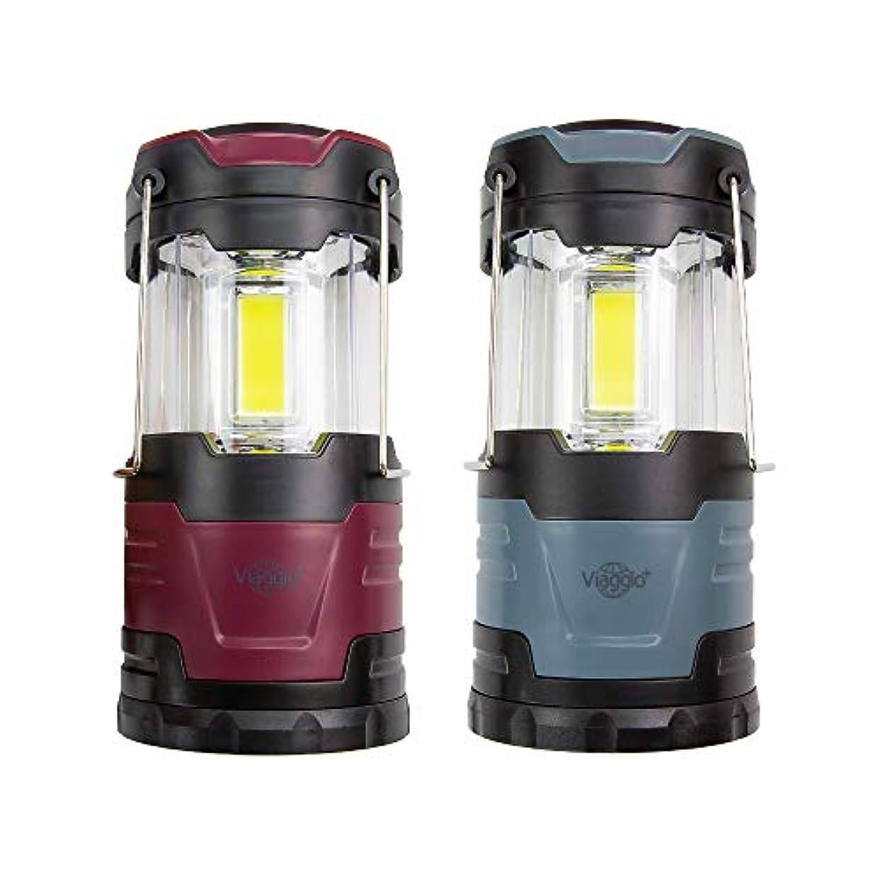 方程式まどろみのあるペニーViaggio+ LEDランタン 高輝度 500ルーメン 電池式 防滴 折り畳み式 ポータブル アウトドア キャンプ テントライト 登山 夜釣り ハイキング 防災 Firefly3