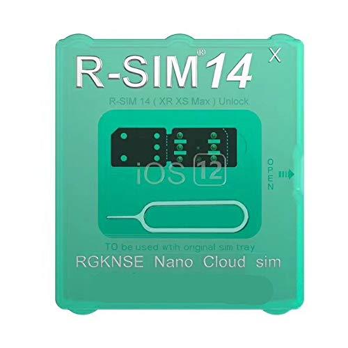 Desoon Unlock SIM14 ロック解除アダプタ SIM Unlock アンロック SIMフリー 解除アダプター iOS12 対応 auto 4G iPhone X MAX/XS/XR/8/8 Plus/7/7 Plus/6S/6S Plus 対応 Unlock Nano-SIMロック解除アダプタ (RIM14)