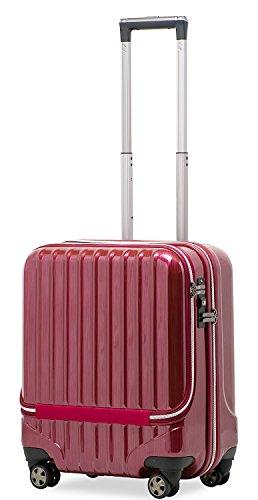 スーツケース 機内持込 MAX 40l 軽量 小型 フロント...