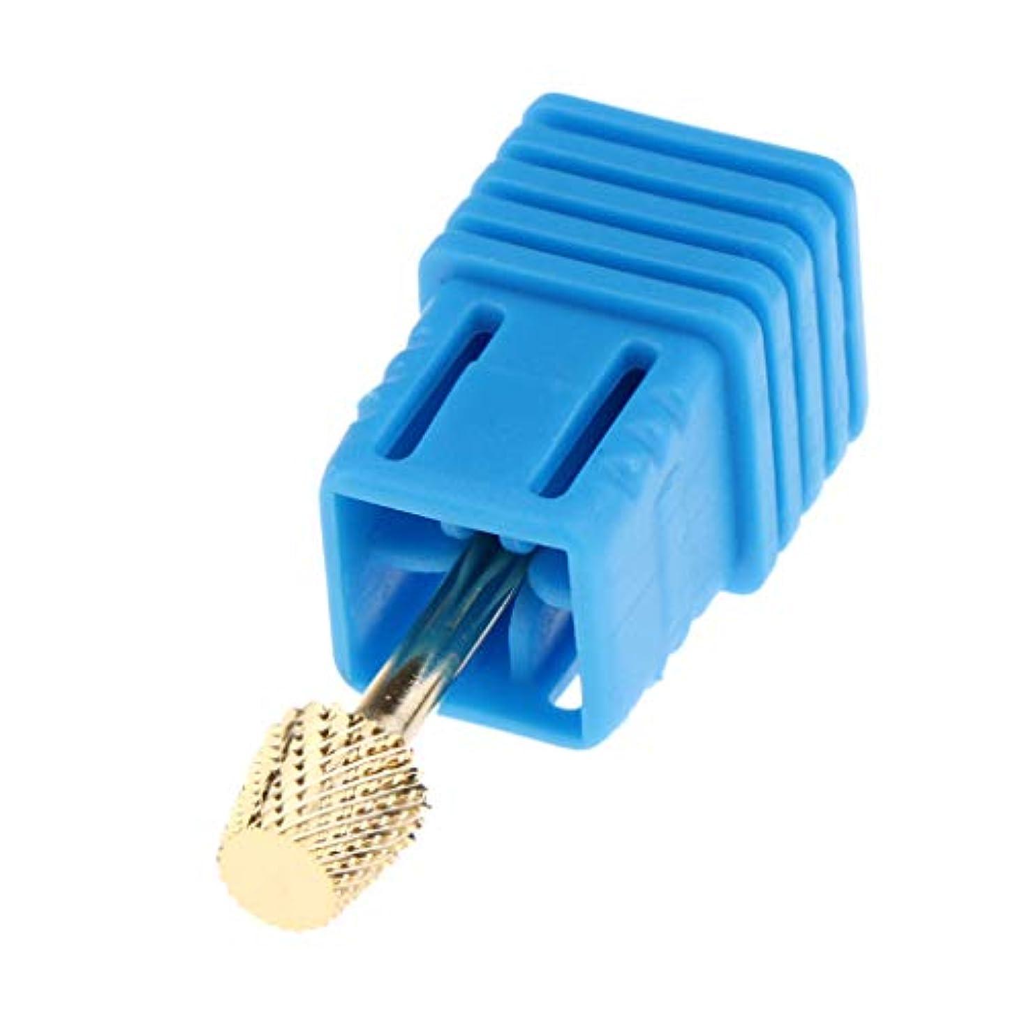 市の花分析的賠償gazechimp 8サイズ選択 マニキュア ネイルドリルペンビット 電気ネイルドリルビット - STZJ10 3.2cm