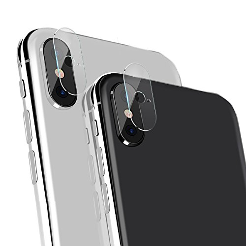 Tcbry iPhoneX対応 カメラ レンズ保護フイルム 液晶保護 アイホンX用 カメラ フイルム レンズ保護 自動吸着【2枚セット】 (iphoneX)
