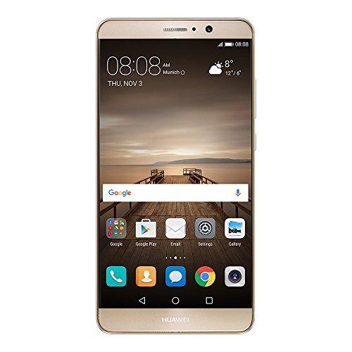 Huawei 5.9型 Mate9 SIMフリースマートフォン シャンパンゴールド/51090YMH 【日本正規代理店品】 MATE9/GOLD