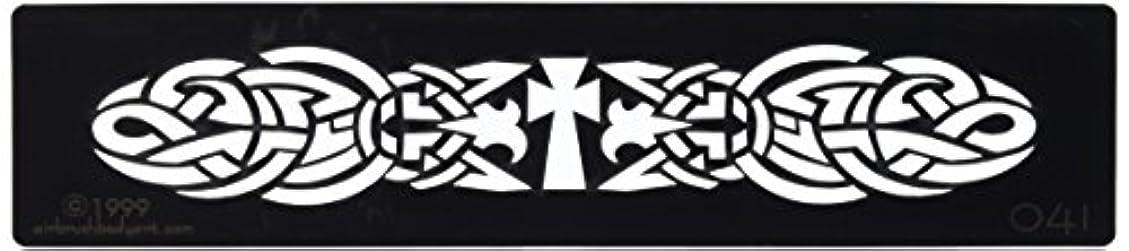 トライアスリート安西戦士ボディステンシル #0041