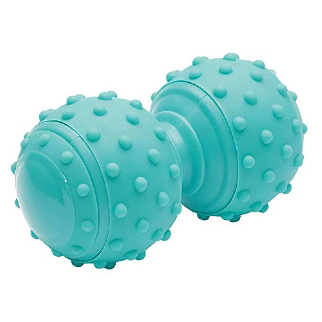 魅力的あいさつコピーI-select ツボ押し マッサージ ボール トリガーポイント 筋膜リリース 首 肩 背中 に グリーン
