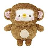 サン・アロー カナヘイの小動物 ピスケ&うさぎ ピスケ サル ぬいぐるみ K-8452