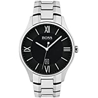 Hugo Boss Men 1513488 Year-Round Analog Quartz Silver Watch