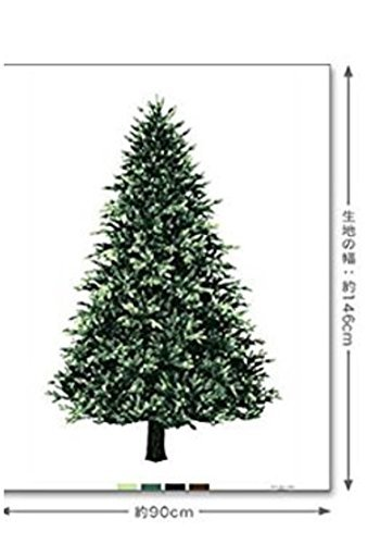 トーカイ タペストリー クリスマスツリー もみの木...
