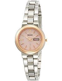 [ルキア]LUKIA 腕時計 ルキア ソーラー デイデイト(日付曜日付) ピンク文字盤 10気圧防水 SSVN030 レディース