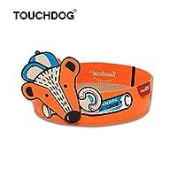 [TOUCHCAT] 猫 バリバリ丸ベッド 丸型爪とぎベッド 爪とぎ+ベッド両用式 爪とぎ取替え可能 日本正規代理店 (オレンジ)