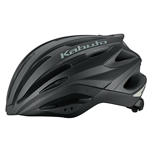 OGK KABUTO(オージーケーカブト) ヘルメット REZZA マットブラック M/L (頭囲 57cm~60cm)