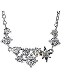 [ピンキーアンドダイアン]PINKY&DIANNE ダイヤモンド シューティングスター アーチライン シルバー 950 ネックレス レディース