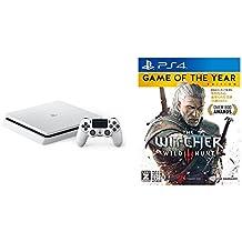 PlayStation 4 グレイシャー・ホワイト 500GB + ウィッチャー3 ワイルドハント ゲームオブザイヤーエディション 【CEROレーティング「Z」】
