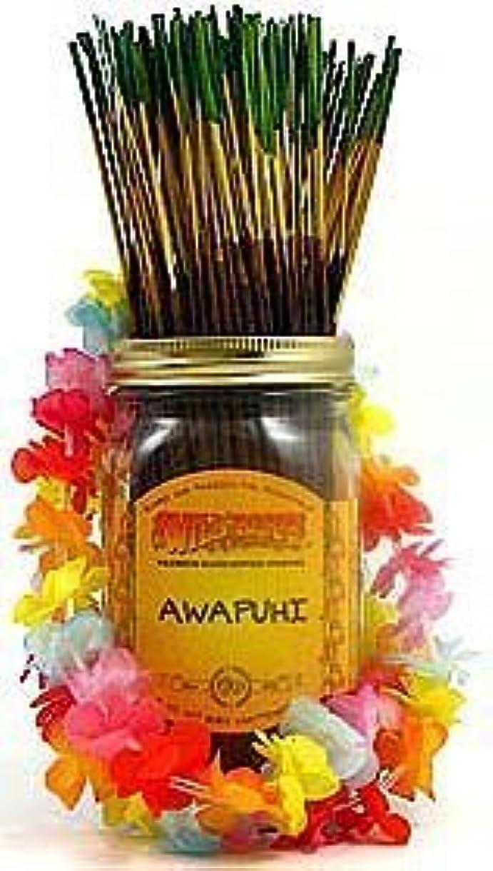 ジャンピングジャックトチの実の木縫い目Awapuhi - 100 Wildberry Incense Sticks [並行輸入品]