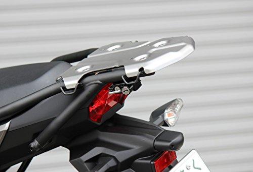 キジマ(Kijima) ヘルメットロック ブラック '17~ ヴェルシスX250/ツアラー 303-1586