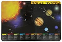 Painless Learning PLN-1 Solar System Placemat