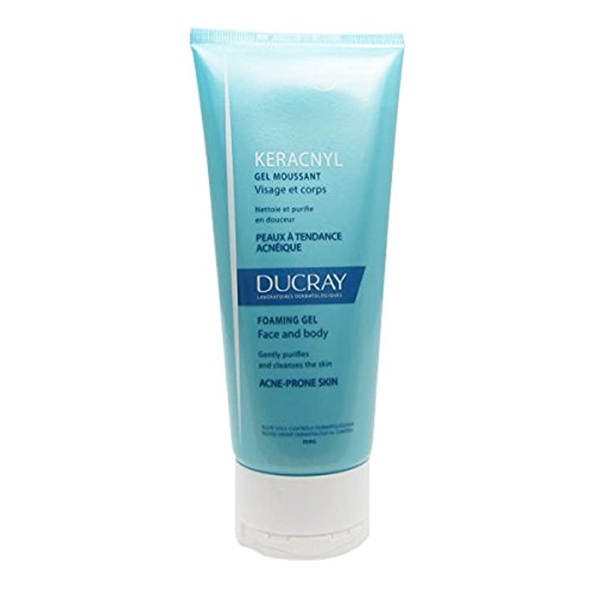Ducray Keracnyl Foaming Gel 200ml [並行輸入品]