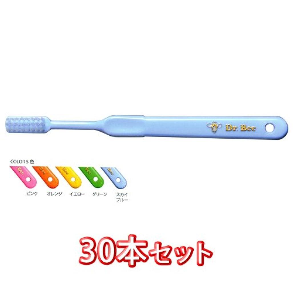 視聴者罪悪感符号ビーブランド ドクタービー 歯ブラシ 30本入 ドクタービーソフト (ふつう))