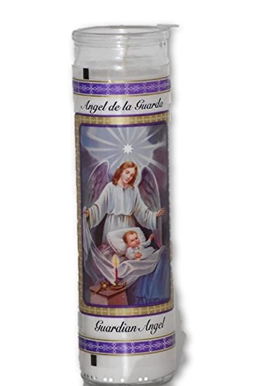 ブレンド石膏目に見えるガーディアンエンジェルcandle-瞑想、Spiritual、Altar Supplies