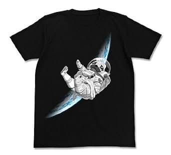 宇宙兄弟 アポTシャツ ブラック サイズ:L