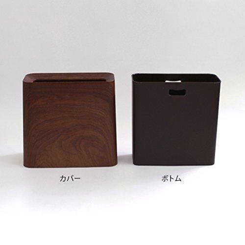 『イデアコ ゴミ箱 チューブラー ハイグランデ ローズウッド 11.5L』の6枚目の画像