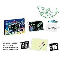 軽い楽しい描画ボードで描く明るいボード子供用の光るマジックグラフィティペインティングボード子供用の描画ボード(多色A4 2 in 1 325 * 25 * 230)