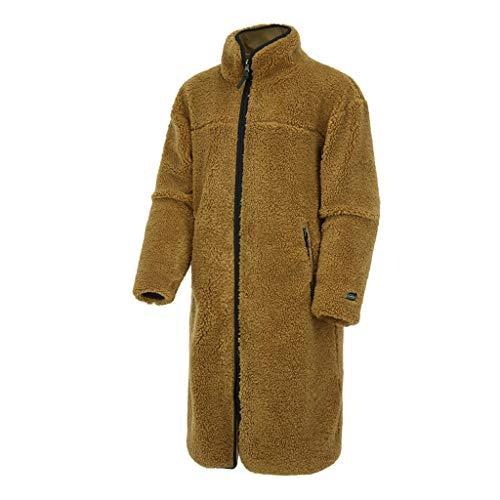 (モンベル) mont-bell アウター コービーフリースリバーシブルロングジャケット CORBY FLEECE REVERSIBLE LONG JACKET メンズ (100(L)身長~175cm, BEIGE) [並行輸入品]