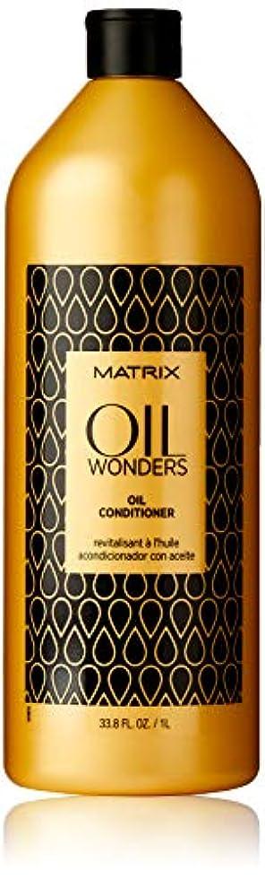 美容師先見の明威信by Matrix OIL WONDERS MICRO-OIL SHAMPOO 33.8 OZ by BIOLAGE