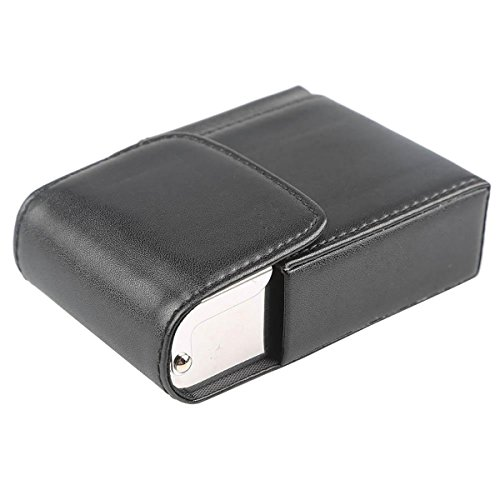 Zigwin レザー シガレットケース 煙草 タバコケース ポケット付