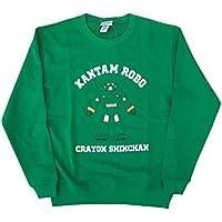 クレヨンしんちゃん スウェット カンタムロボ グリ-ン Lサイズ KYAP883