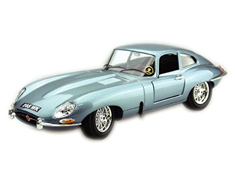 ブラーゴ 1:18シリーズ ジャガー E クーペ 1961 ブルー 200-603