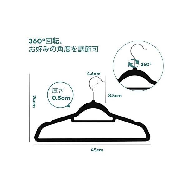 Sable ハンガー すべらない 30本組 ネ...の紹介画像4