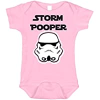 Bebe Bottle SLing Storm Pooper 100% Cotton Onersie