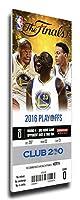 2016NBAファイナルゲーム5キャンバスメガチケット–Golden State Warriors